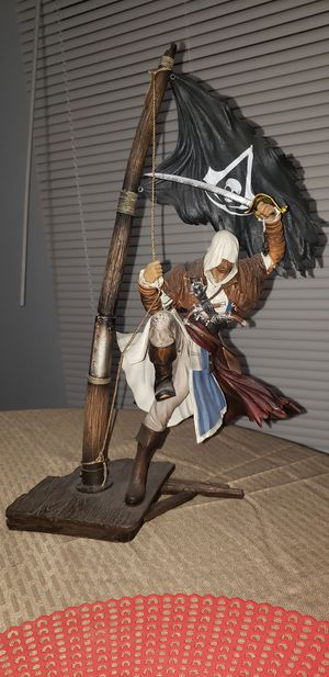 Assasins Creed Black Flag Edward Kenway statue for Sale in Miami, FL