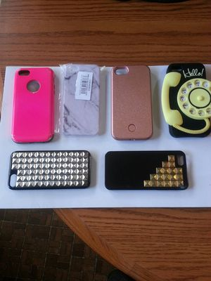(6) Iphone 5 S. Cases. for Sale in Thomasville, NC