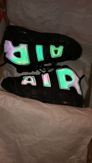 REFLECTIVE UPTEMPOS SIZE 6Y for Sale in Annandale, VA