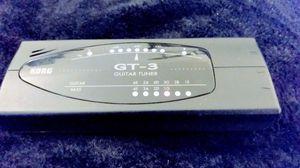 Korg GT-3 tuner for Sale in Portland, OR