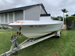 Project Boat 18ft with Trailer for Sale in Miami, FL