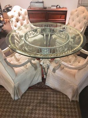 Antique Viennese glass table Rococo style. for Sale in Beverly Hills, CA