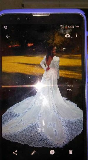 wedding dress hand sown beading for Sale in Knoxville, TN
