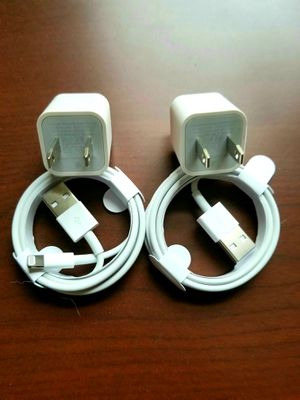 2 brand new original  iphone chargers for Sale in Queens, NY
