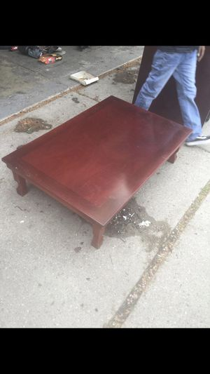 Imported Rosewood Japanese Tea Tables for Sale in Southfield, MI