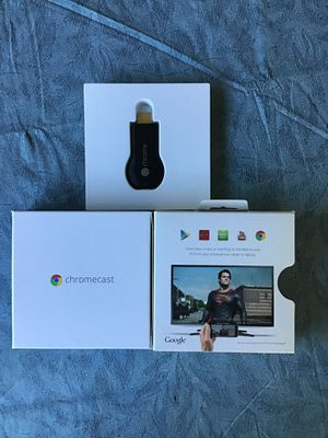 Chromecast for tv for Sale in Dumfries, VA