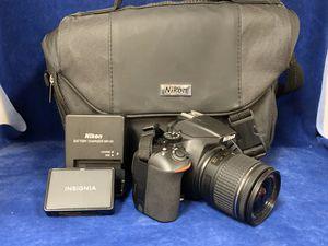 Nikon D3500 Digital SLR 24.4MP Camera 18-55mm DX VR Lens w/Accessories for Sale in Marietta, GA
