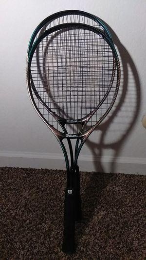 Wilson court EIX tennis rackets for Sale in Fresno, CA