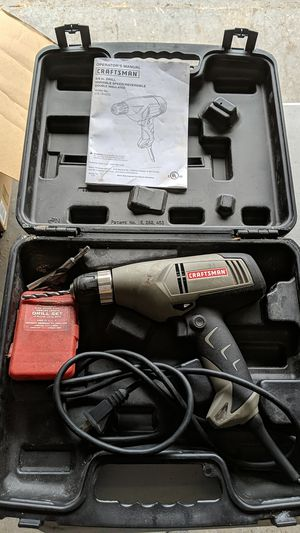 """CRAFTSMAN 3/8"""" variable speed corded drill for Sale in Surfside Beach, SC"""