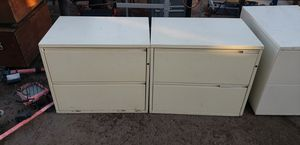 Filing cabinets great shape just need a little cleaning for Sale in Phoenix, AZ
