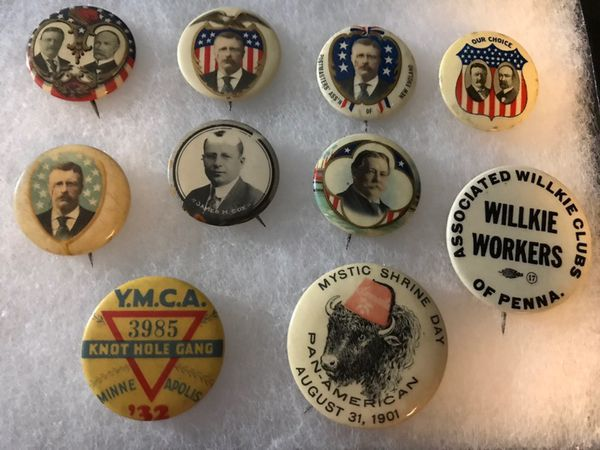 Political Pins :BUYING