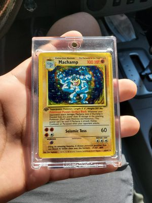 Rare Holographic Pokemon Trading Cards for Sale in San Marcos, CA