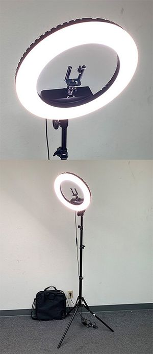 "NEW $75 LED 13"" Ring Light for Sale in Downey, CA"
