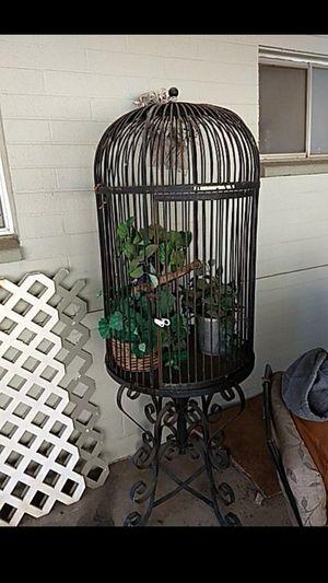 Large Rod Iron bird cage for Sale in Phoenix, AZ