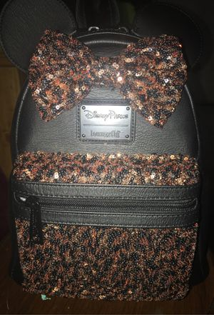 Disney backpack collection black with gold brand new for Sale in Fresno, CA