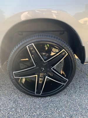 26 inch rims for Sale in NORTH PRINCE GEORGE, VA