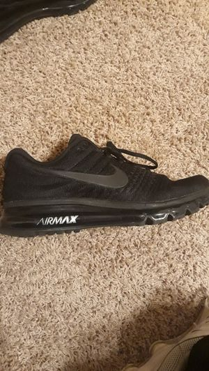 Nike Air Max 2017 (Triple Black) Mens-Size 9 for Sale in Irving, TX