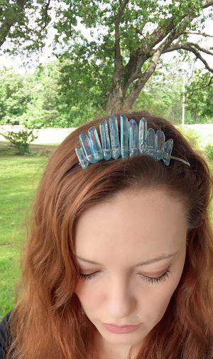 Aqua Angel Aura Qaurtz Crystal Tiara for Sale in Dawsonville, GA