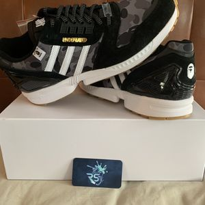 Bape Undefeated adidas ZX 8000 Sz 13 New for Sale in Fort Lauderdale, FL