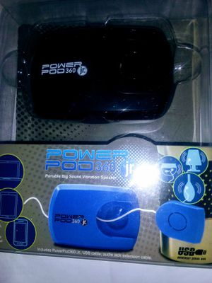 $16 OBO..POWER POD 360 Jr. TURN ANYTHING INTO A SPEAKER!! HOW COOL IS THAT?? for Sale in San Diego, CA