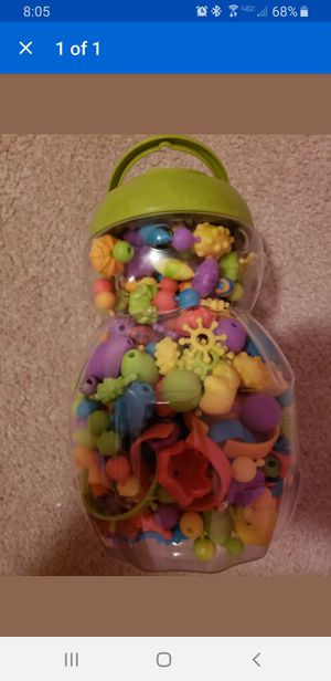 beads kids toddler preschool daycare toy for Sale in Tampa, FL