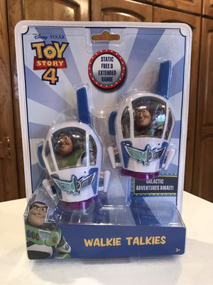 New Toy Story 4 Walkie Talkies for Sale in Downers Grove, IL