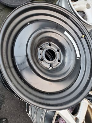 4) 22inch black steel rims for Sale in Washington, DC