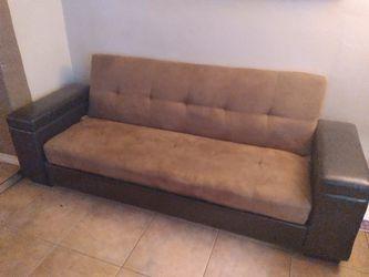 $80 Sleeper Storage Sofa/ Futon for Sale in Surprise,  AZ