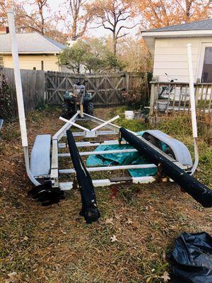Aluminum trailer 19/20 ft for Sale in Norfolk, VA