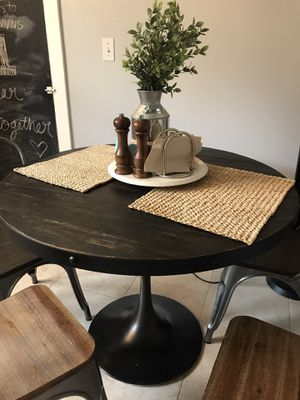 Rustic round dining table for Sale in North Andover, MA