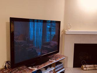 "50"" Panasonic TV & Stand for Sale in Kirkland,  WA"