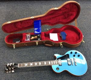 Gibson Les Paul Classic Electric Guitar Pelham Blue USA Made 2018 Model for Sale in Laurel, MD