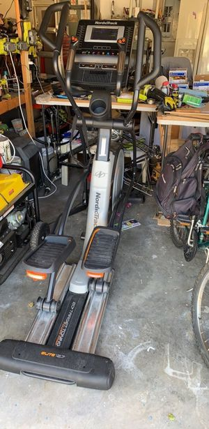 NordicTrack Elite 12.7 Elliptical w/WiFi. You must pick up. for Sale in Miramar, FL