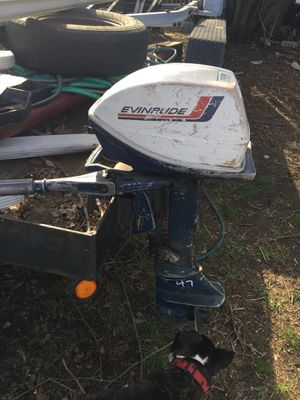 Evinrude outboard motor for Sale in Providence, RI