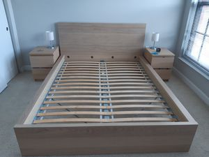 Ikea Malm queen bed for Sale in Washington, DC