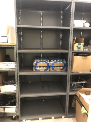 5 shelf heavy duty metal shelving for Sale in Deerfield Beach, FL