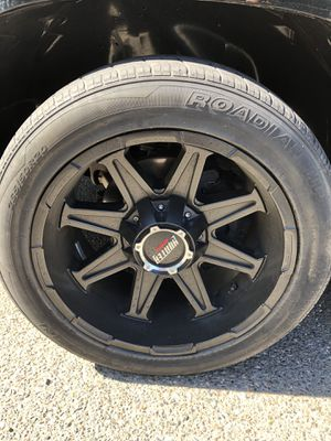 20x10 hunter rims and tires for Sale in Oakdale, CA