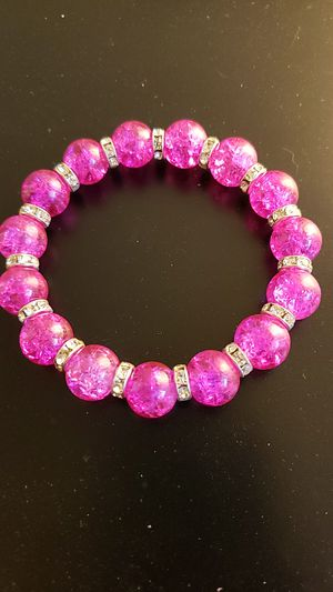Pink with Sliver Bling Spacers for Sale in Annandale, VA