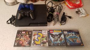 Playstation 3 with games for Sale in Bay Shore, NY