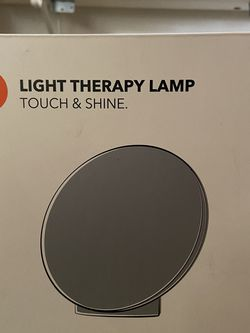 Light therapy lamp touch and go for Sale in Beaverton,  OR