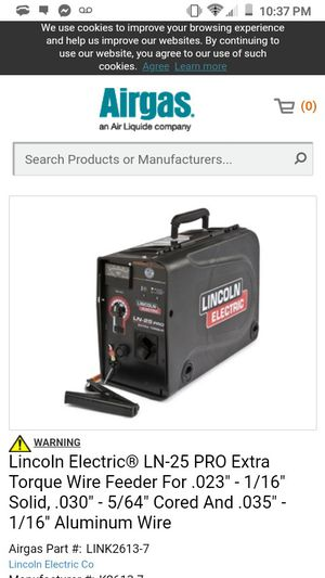 Lincoln electric suitcase welder N 25 pro for Sale in Oregon City, OR