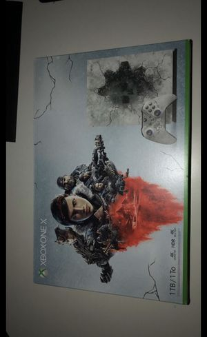 Xbox one x gears of war 5 bundle limited edition for Sale in Bakersfield, CA