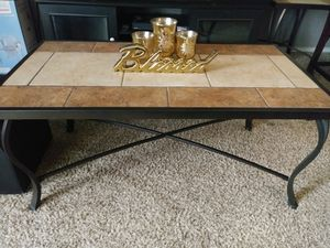 Wrought iron 3 piece table set!! for Sale in Round Rock, TX