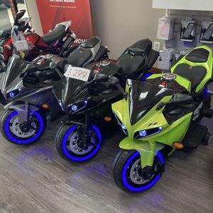 12 V Kids Ride On Bike With Bluetooth System Special Cash Deal $170 Only for Sale in Dallas, TX