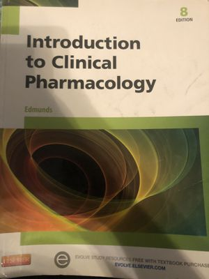 Pharmacology textbooks for Sale in Hesperia, CA
