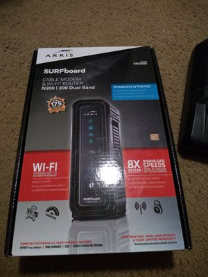 Modem and router for Sale in San Tan Valley, AZ
