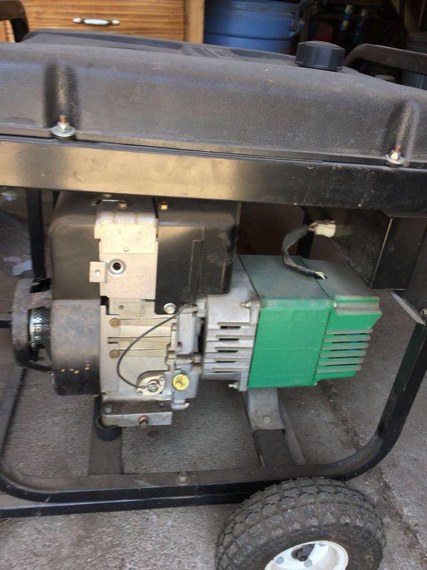 Coleman 5000 watt generator