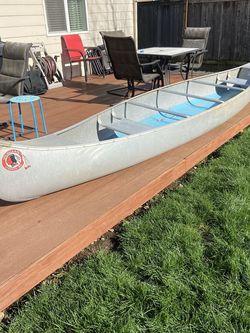 Osagian 17ft Aluminum Canoe for Sale in Washougal,  WA