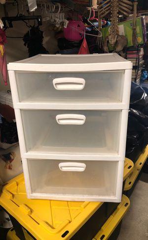 3 drawer Sterilite for Sale in San Diego, CA