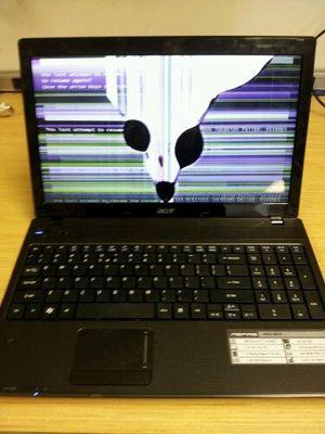 Cracked computer need repair for Sale in Phoenix, AZ